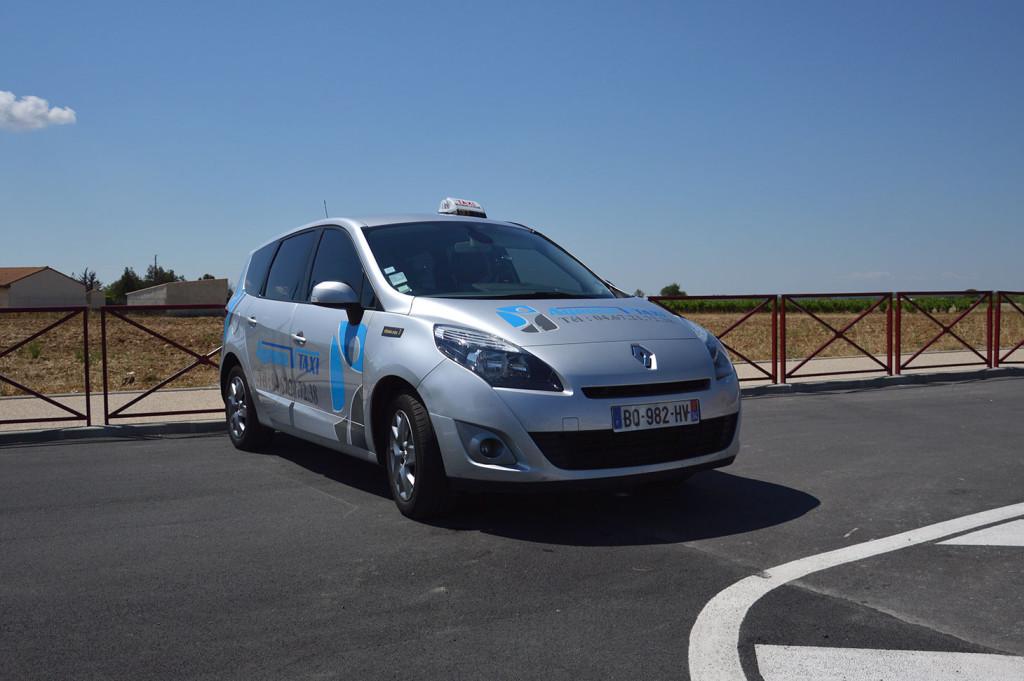 Taxi Vias Renault Megane Scenic
