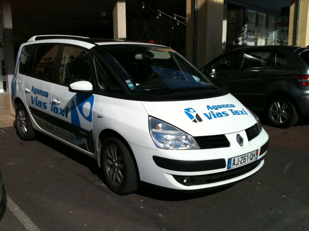 Agence vias taxi Renault Espace