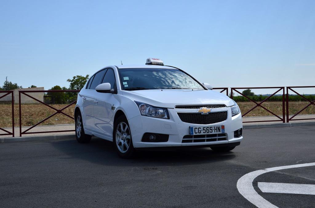 Agence Vias Taxi Chevrolet Cruze